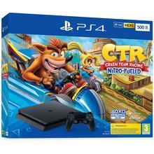 Pack PS4 console 500 GB + spel Crash Team Racing Nitro-Fueled