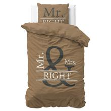 Parure housse de couette Mr. & Mrs. Right
