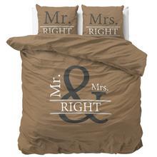 Dekbedovertrekset Mr. & Mrs. Right