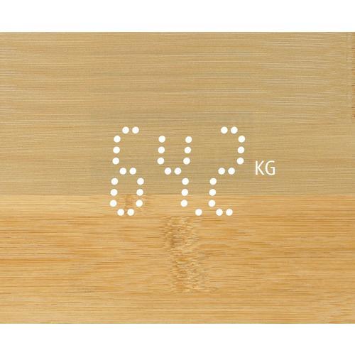 Pèse-personne en bambou MEDISANA PS 440