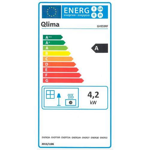 Chauffage catalytique au gaz QLIMA GH 959 RF