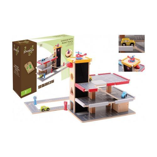 Garage en bois avec accessoires JOUÉCO