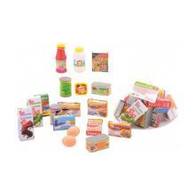 Set d'accessoires 18 pièces pour supermarché HOME + SHOPPING