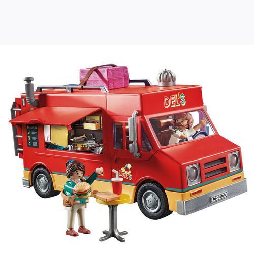 PLAYMOBIL® 70075 PLAYMOBIL: THE MOVIE Del's Food truck