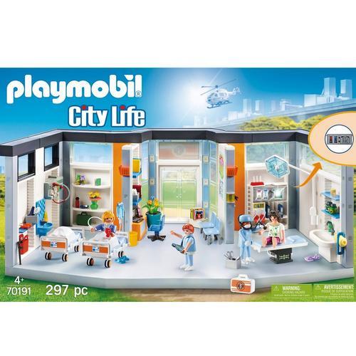 PLAYMOBIL® 70191 Ziekenhuis met inrichting