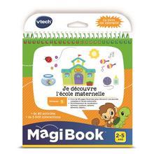 Livre Je découvre l'école maternelle MagiBook VTECH