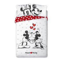 Parure housse de couette DISNEY Minnie Loves Mickey