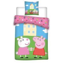 Dekbedovertrekset Peppa Pig