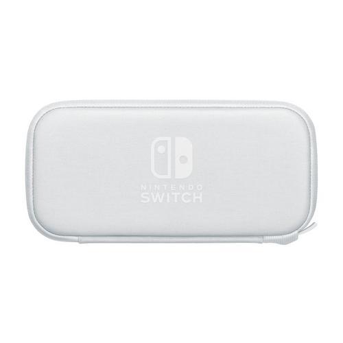 Transporttas + screenprotector voor Nintendo Switch Lite