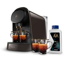 Machine à café à capsules + 2 tasses + détartrant L'OR Barista PHILIPS LM8012/71