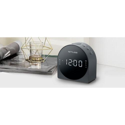 Radio-réveil MUSE M-185CR