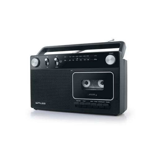 Draagbare radio/cassettespeler MUSE M-152 RC