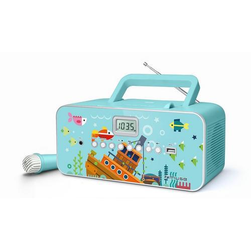 Radio/lecteur CD portable MUSE M-29 K