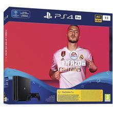 Pack console PS4 PRO 1 To + jeu FIFA 20 + 14 jours de PlayStation Plus