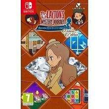 Spel Layton's Mystery Journey - Katrielle en het Miljonairscomplot Deluxe Editie voor Nintendo Switch