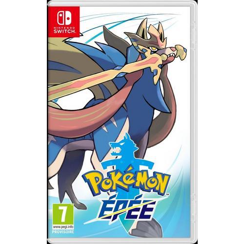 Jeu Pokémon Épée pour Nintendo Switch