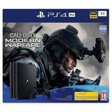 Pack PS4 console PRO 1 TB + spel Call of Duty: Modern Warfare