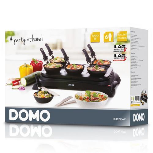 Gourmetset 2-in-1 DOMO DO8710W
