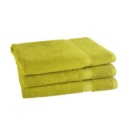 Lot de 3 draps de bain Elegance CLARYSSE