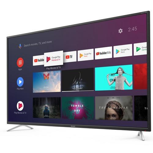 TV LED Ultra HD/4K Android 139 cm SHARP 55BL2EA