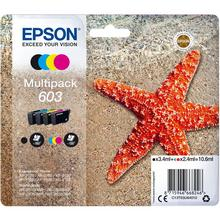 Lot de 4 cartouches d'encre couleur EPSON 603