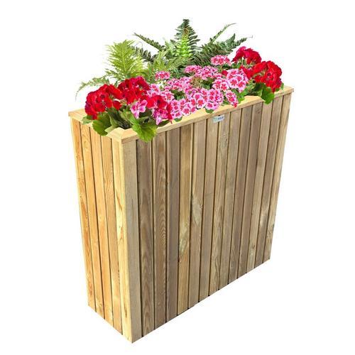 Hoge bloembak SOLID S7223