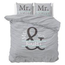 Parure housse de couette Mr. & Mrs. Right 2