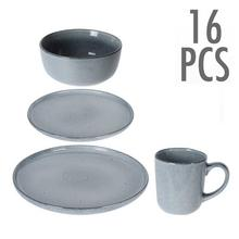 16-delig servies in keramiek