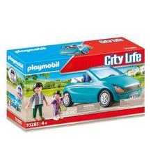 PLAYMOBIL® 70285 Papa avec enfant et voiture cabriolet de PLAYMOBIL