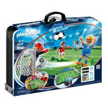 PLAYMOBIL® 70244 Grand terrain de football transportable