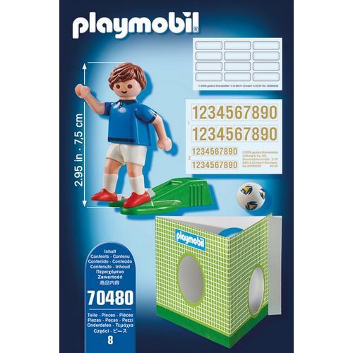 PLAYMOBIL® 70480 Voetbalspeler Frankrijk