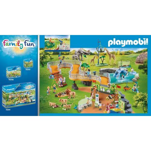 PLAYMOBIL® 70343 Famille de lions avec végétation