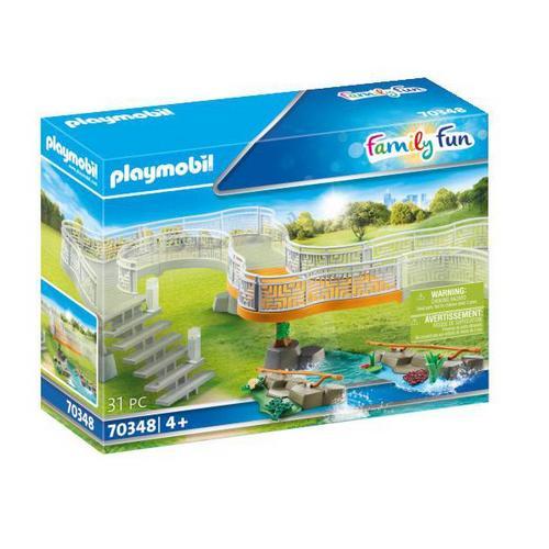 PLAYMOBIL® 70348 Extension pour parc animalier