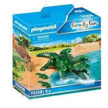 PLAYMOBIL® 70358 Alligator avec ses petits