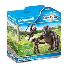 PLAYMOBIL® 70360 Gorille avec ses petits