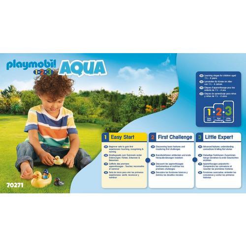 PLAYMOBIL® 70271 Famille de canards et enfant