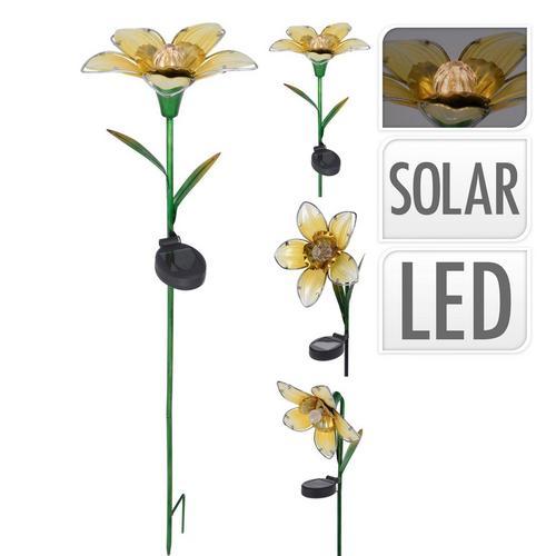 Lampe solaire 'Fleur'