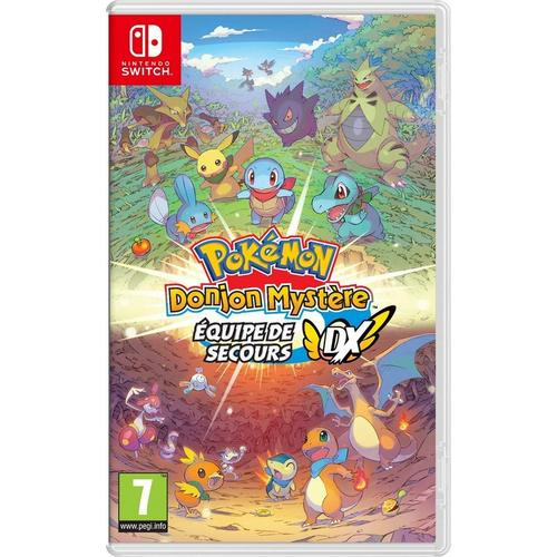 Spel Pokémon Mystery Dungeon: Rescue Team DX voor Nintendo Switch