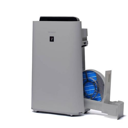 Luchtreiniger met bevochtigingsfunctie SHARP UA-HD50E-L