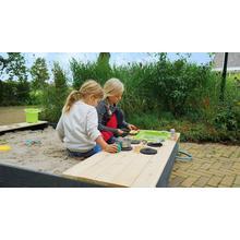 Bac à sable en bois avec cuisine EXIT Aksent