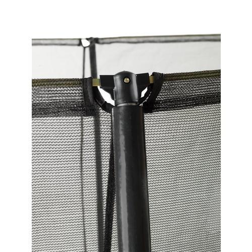 Trampoline EXIT Silhouette 244 x 366 cm - zwart