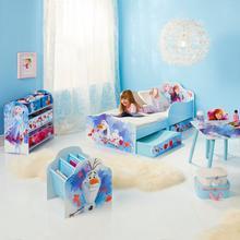 Lit d'enfant avec tiroirs de lit DISNEY La Reine des Neiges II + sommier