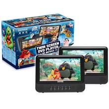 Draagbare dvd-speler met 2 schermen DENVER MTW-757TWIN + 10 films