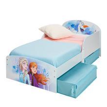 Lit d'enfant avec tiroirs de lit DISNEY La Reine des Neiges II + sommier + matelas