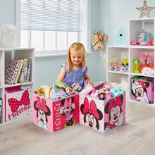 Set van 4 opbergkubussen Minnie Mouse