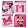 Set van 4 opbergkubussen Minnie Mouse