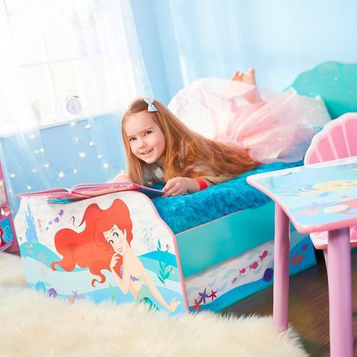 Lit d'enfant avec tiroirs de lit DISNEY Princesse Ariel + sommier