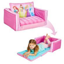 Mini-canapé convertible/canapé-lit gonflable pour enfants Princesses DISNEY