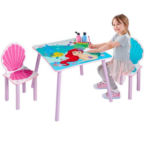Table et 2 chaises pour enfants DISNEY Princesse Ariel