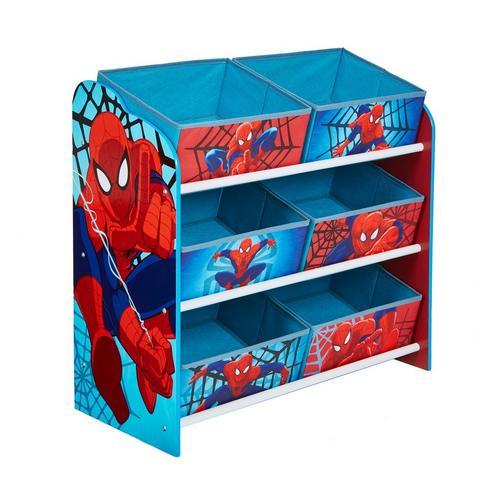 Meuble de rangement à 6 bacs Spider-Man